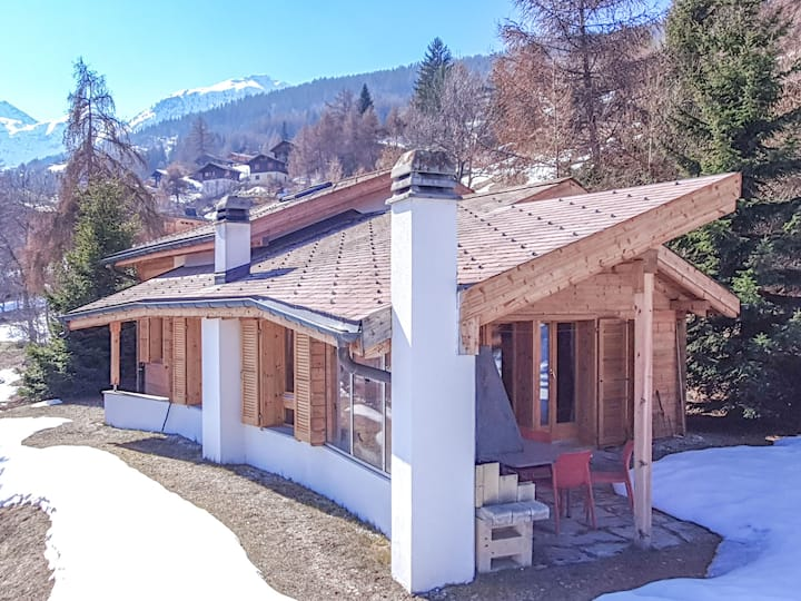 Chalet Khione - delightful chalet with garden and stunning views