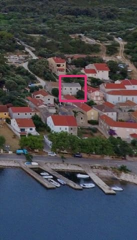 Holiday house Nada Veli Rat, Island Dugi otok