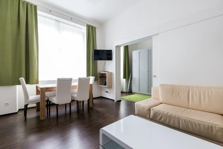 neue adaptierte Wohnung in Ruhelage