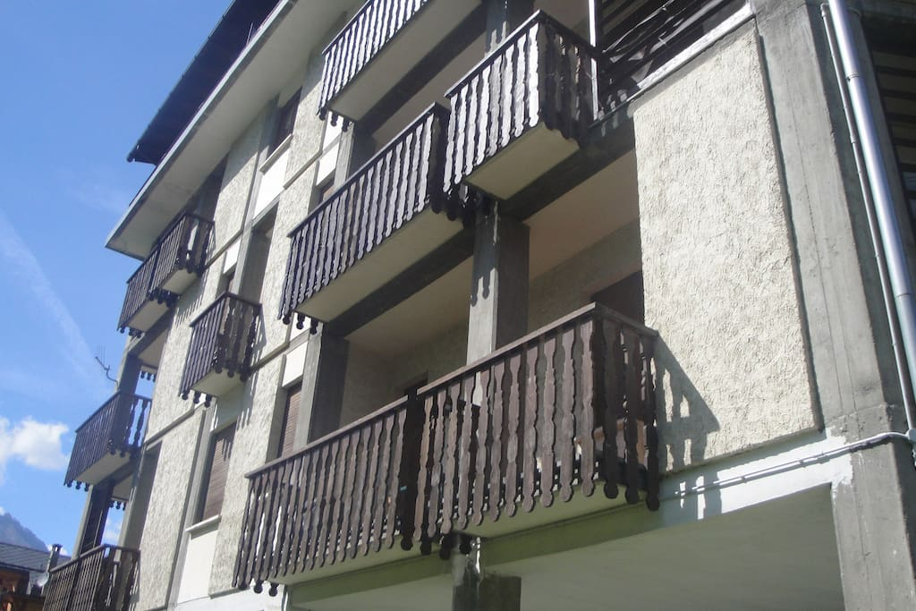 I due ampi Balconi