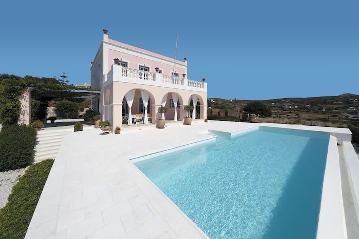 Villa Casa Del Sol Syros - Divine Property - Parakopi - 別荘
