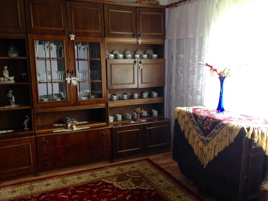 Bedroom with nice window light