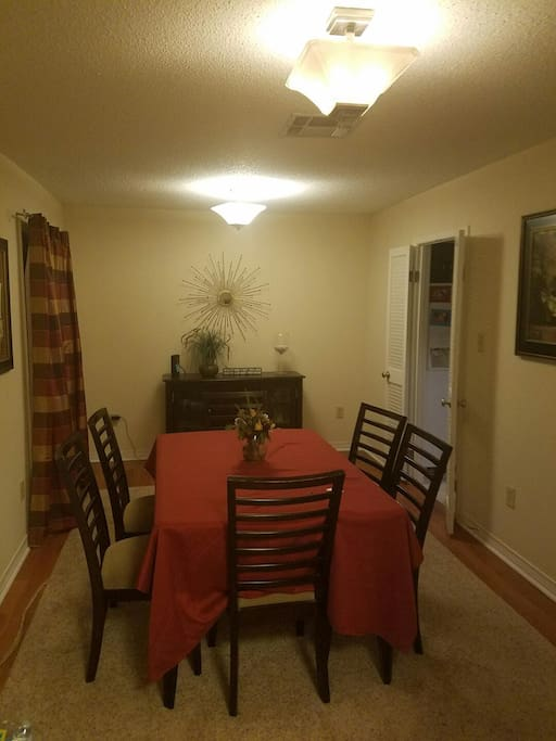 Dining Room is a shared space.