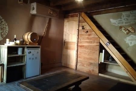 La petite maison dans la courette (avec jacuzzi)