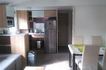 Mobil home 3 chambres SIBLU, piscines payantes