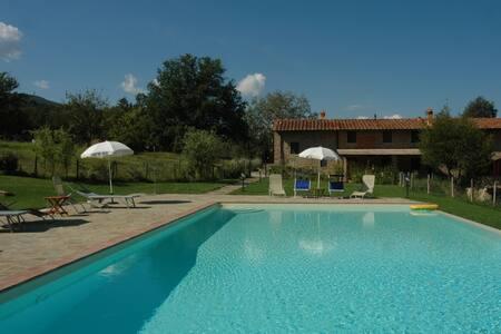 "I Gelsi""frant"" apart.Farmhouse+pool - Figline e Incisa Valdarno - วิลล่า"