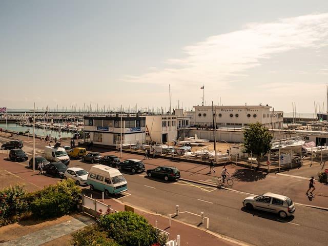 Appartement de charme 2e étage vue mer au Havre