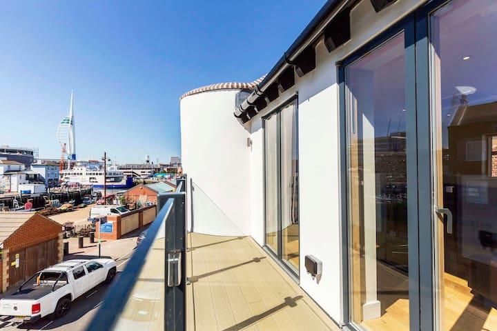 Modern Double En-Suite & breakfast - Portsmouth - Bed & Breakfast