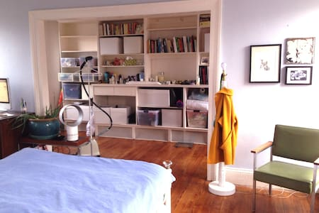 This sun-filled, spacious two-bedroom apartment is on the second floor of a charming walk-up in the heart of Carroll Gardens. Located on Smith Street, the neighborhood is lively with great restaurants and bars right at your feet.