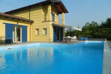 Stupenda villa con piscina privata - Sarezzano - Dom