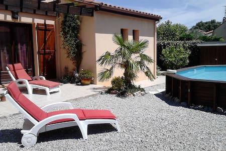 Calme, jardin et piscine - Thuir