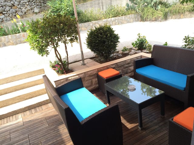 Apartment Nela,50m from beach 4+2
