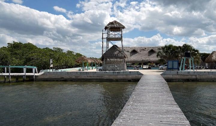 Tower Camping at Rio Lagartos Chiquila Nature Park