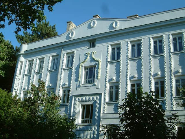 Elegantes Studio in U-Bahnnähe, gratis Parken - Vienna - Apartamento