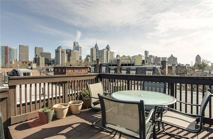 2BR condo+roof deck in Fitler Sq. - Philadelphia - Apto. en complejo residencial