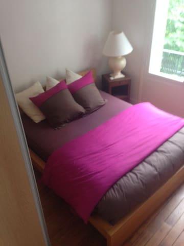 chambre un lit de 160X200