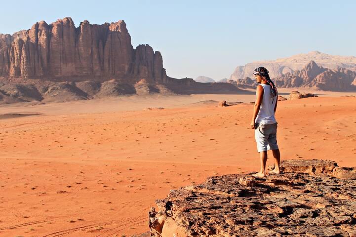 نتيجة بحث الصور عن sleep under the stars in Wadi Rum 