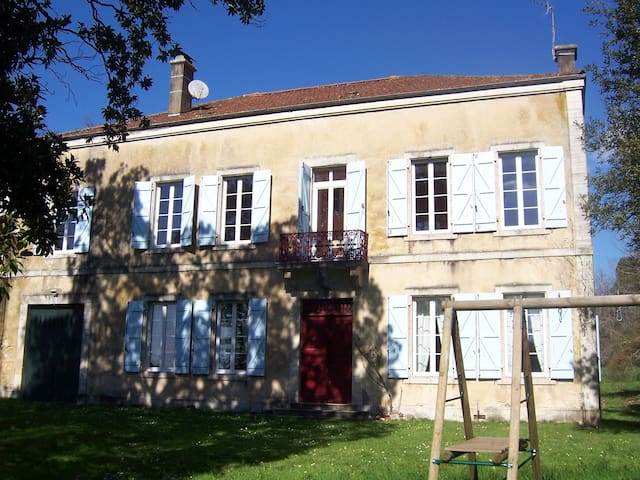 Jolie et très grande maison familiale + grd jardin - Peyrehorade - Dom