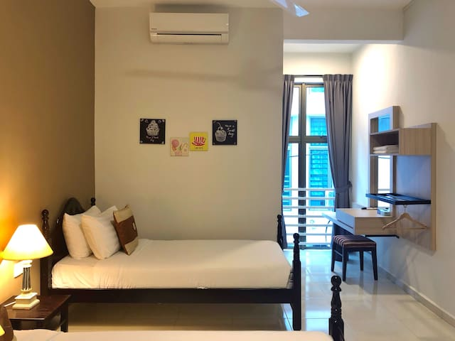 The Bliss Malacca Twin Room