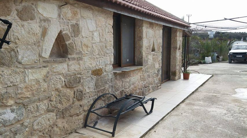 Cozy Stone Build house with garden - Paphos