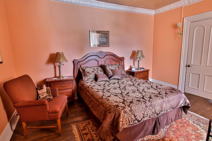 Chambre Automne, lit queen - Dosquet - Bed & Breakfast