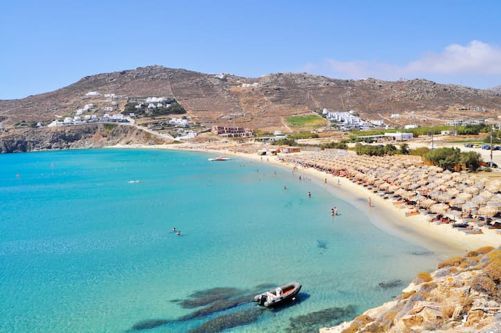 4 BEDROOM HOUSE BY THE BEACH  - MYKONOS - Appartement