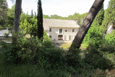 House 2-4 pers. with swimmingpool - Saint-Étienne-du-Grès - Huis