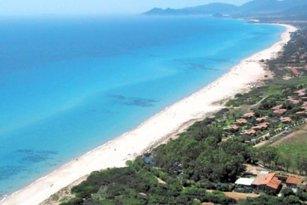 Spiaggia di Costa Re: località Piscina Rei