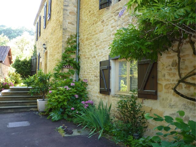 Chambre 6 - Aux Trois Sources - SARLAT - Bed & Breakfast