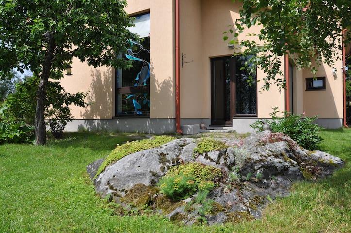 Private House & Garden in Tallinn Pirita