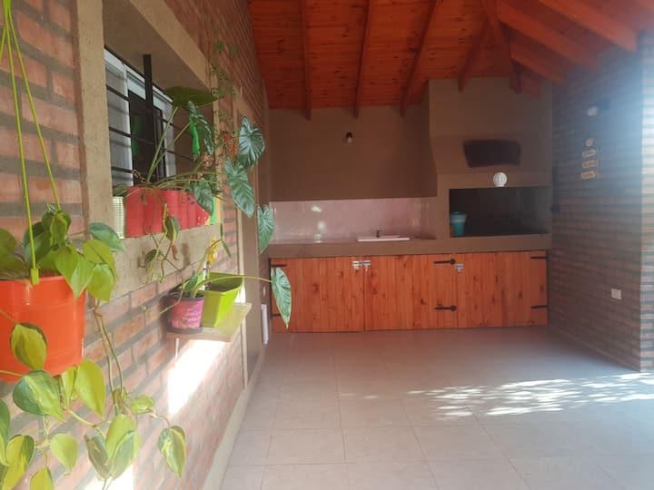 Villa Agustina. Alquiler de cabañas Mina Clavero.