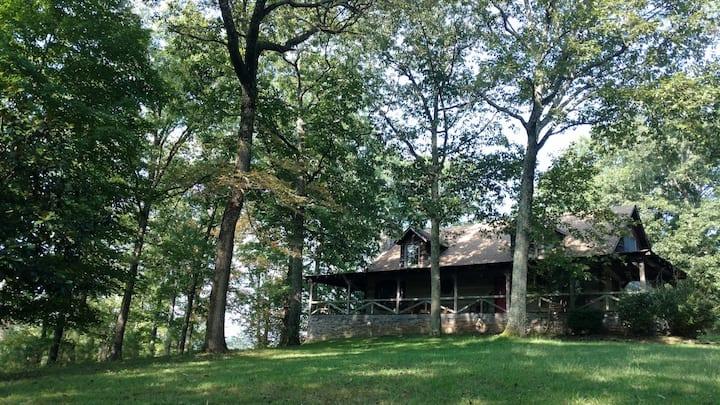 Fork Inn Log Cabin, Porch Rm (#2)