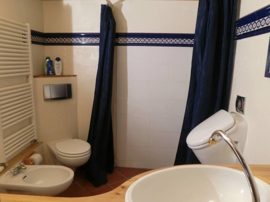 Dusche, WC, Bidet, Urinal