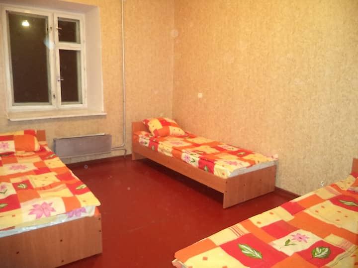 Сдается 4-местная комната в Домашней гостинице
