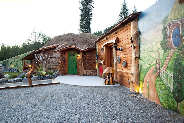 Stay in an actual Hobbit House - Trout Creek