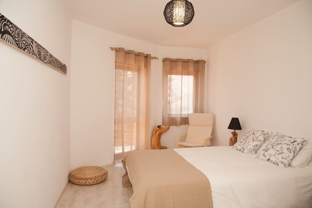 White Room - Double Bed Room with Balcony.