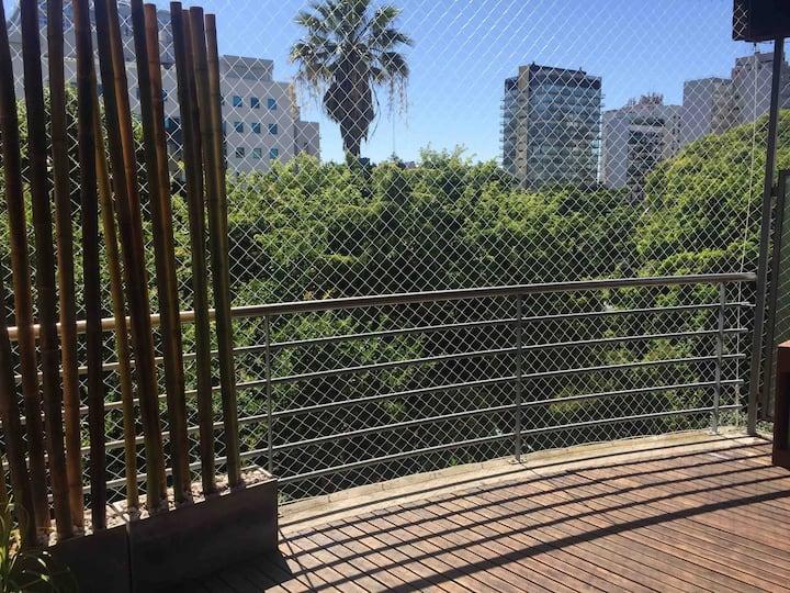 Vicky's Place - 2 amb con amplio balcón y parrilla