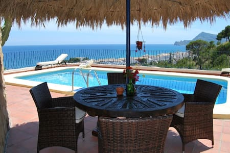 The 7th Heaven, romatic villa with stunning views - Altea