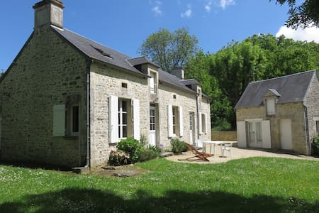 Charming house in Normandy (France) - Juaye-Mondaye - Hus