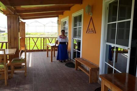 Cofortable Cabaña , Piscina , cerca de Aeropuerto