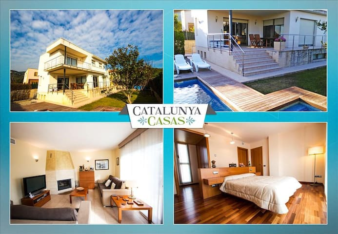 Villa Alcover in Costa Dorada, a short drive from the beach! - Tarragona - Villa