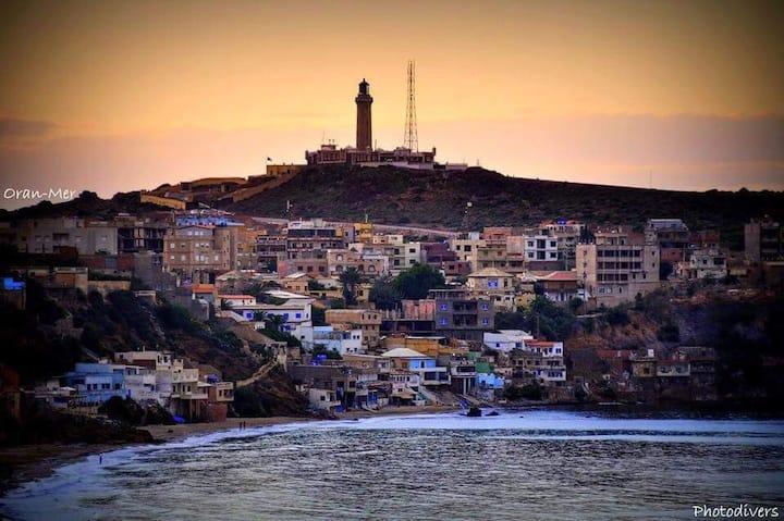 C4#Résidence Familiale Oran Cap Falcon Corniche