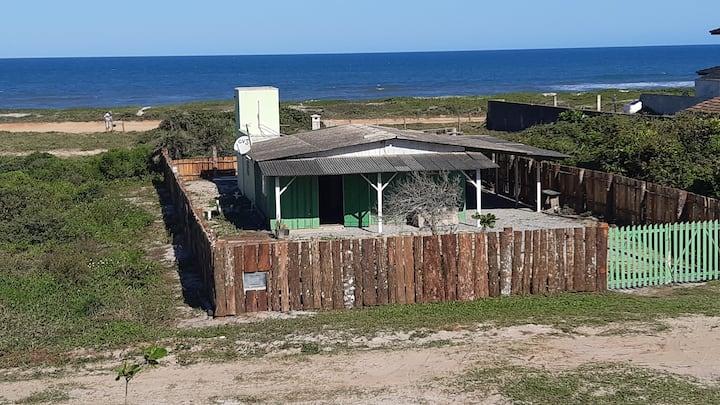 Cabana a beira-mar