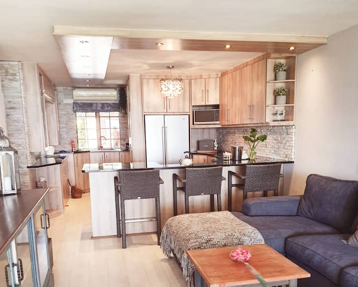 Centrally located oceanfront apartment