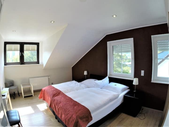 Doppelzimmer Komfort Flussblick