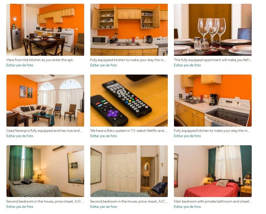 Casa Naranja - 2 bedroom Apartment close to malecon and best bars/restaurants in town