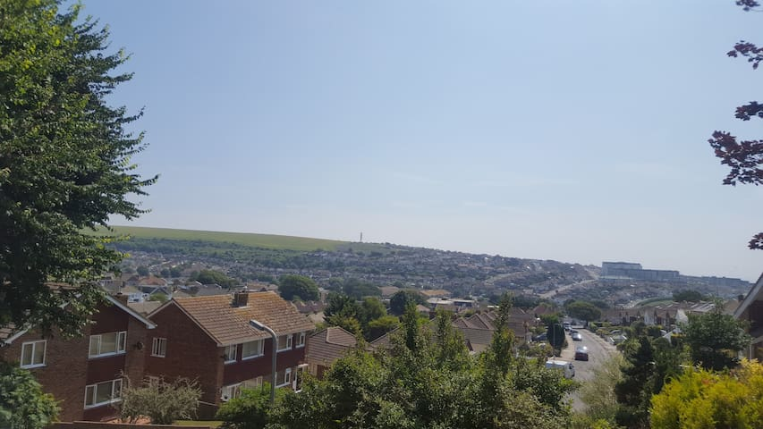 Saltdean family home with a view
