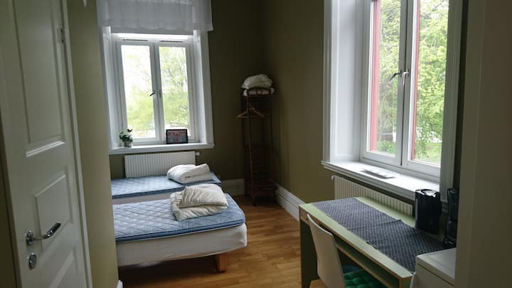Room in Linköping center with beautiful view