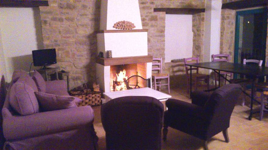 Luxury country apt in Marche region - Serra San Quirico - Wohnung