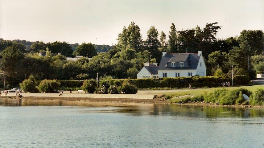 Maison (14 personnes) face à la mer - Plougastel-Daoulas - Ev